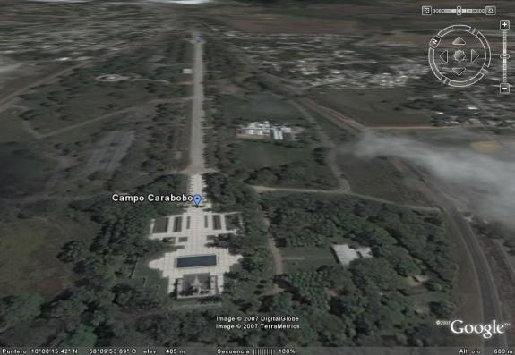 foto satelital de campo de carabobo2