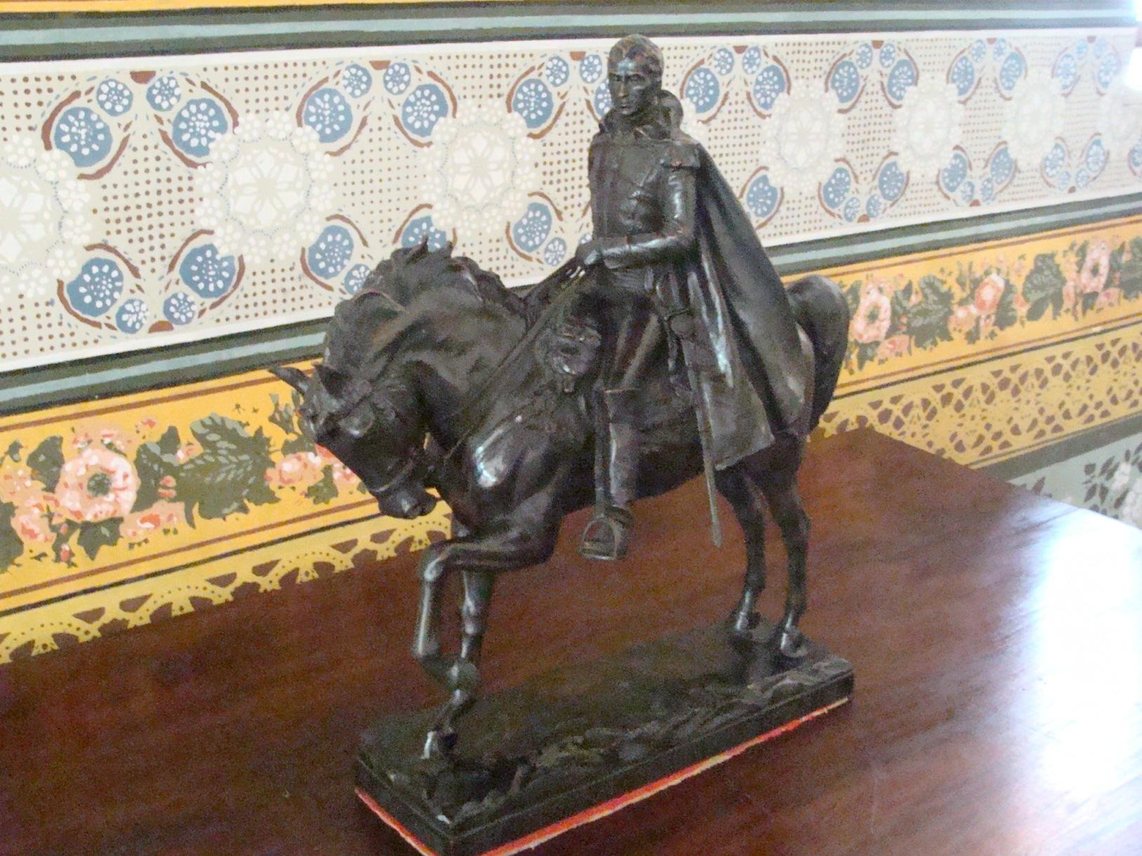 bolivar a caballo