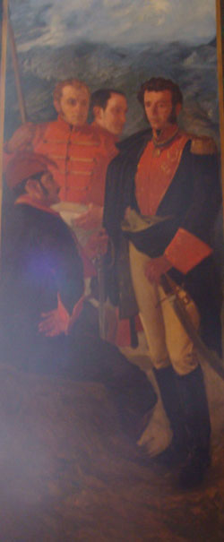 Generales  Jefe Sucre, Paez, Rivas y Urdaneta