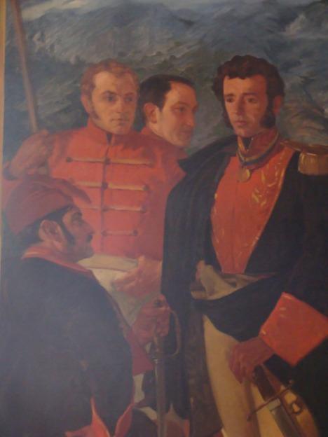 Generales en jefe Sucre, Paez, Rivas y Urdaneta