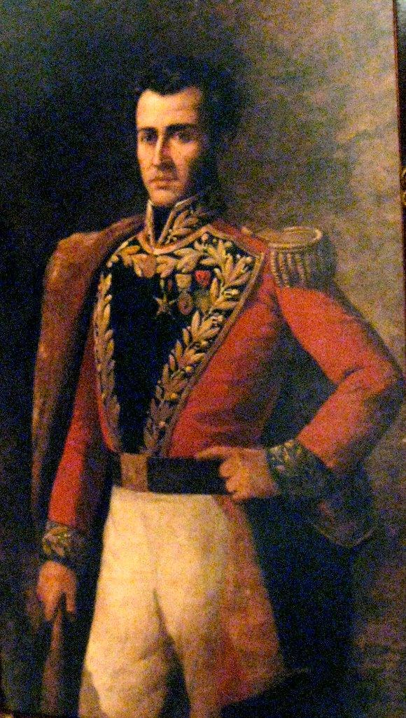 retrato de Antonio Jose de Sucre