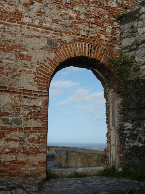 Puerta Principal de entrada del Fortin Solano
