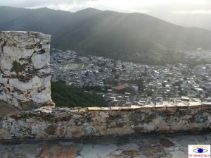 Vista desde arriba del Fortin