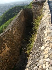 Parte superior del Fortin