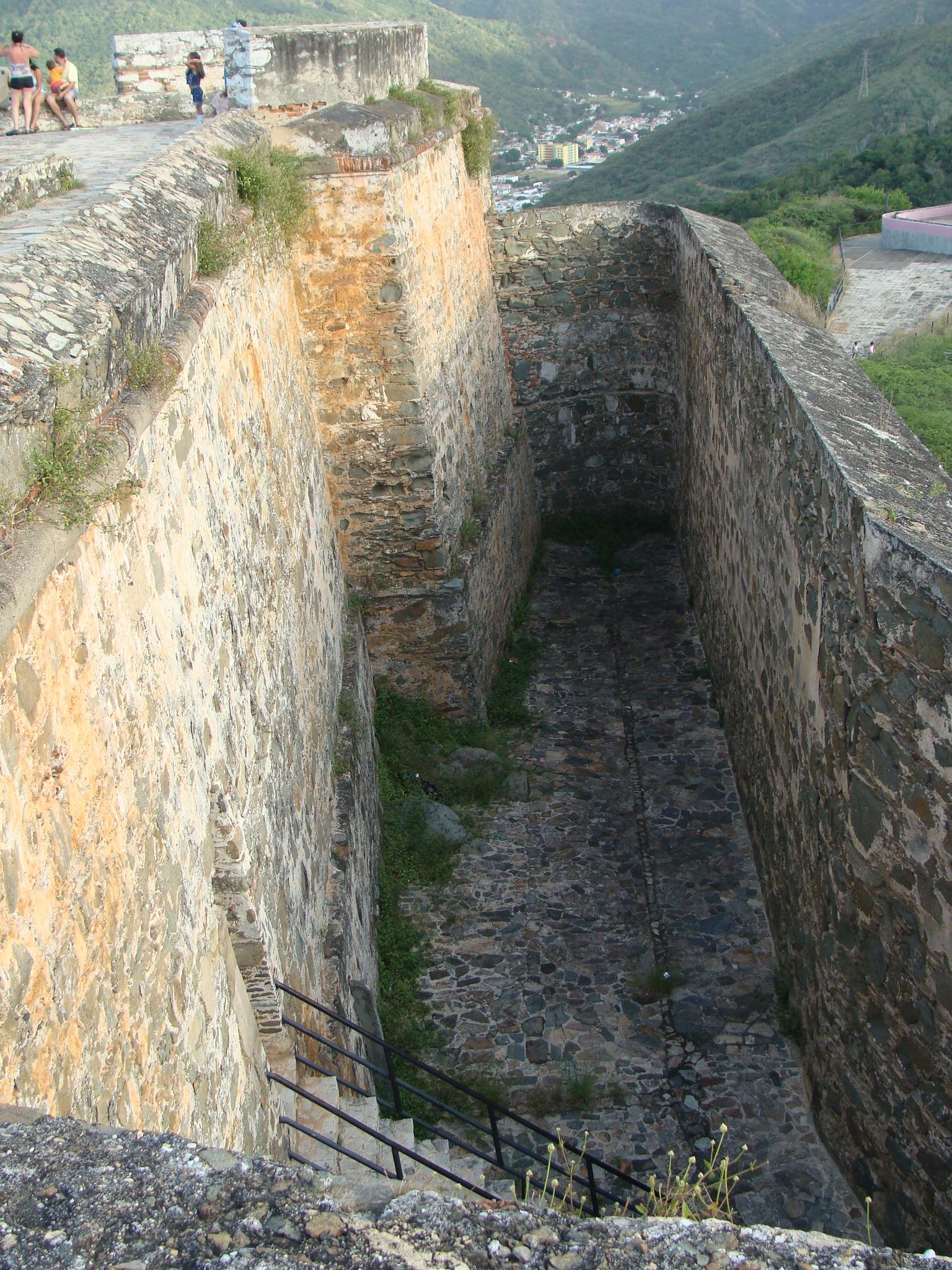 Vista desde arriba del Fortin de lq parte posterior