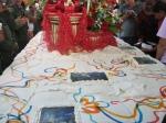 Torta de cumpleaños del Libertador